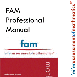 Feifer Assessment of Mathmatics Professional Manual with Fast Guide