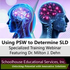 Using PSW to Determine SLD Training Webinar Product Image
