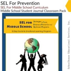 SEL For Prevention Middle School 25 Journals