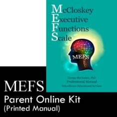 MEFS Parent Online Kit with Printed Manual Product Image
