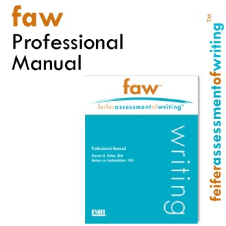product image Feifer Assessment Of Writing Professional Manual